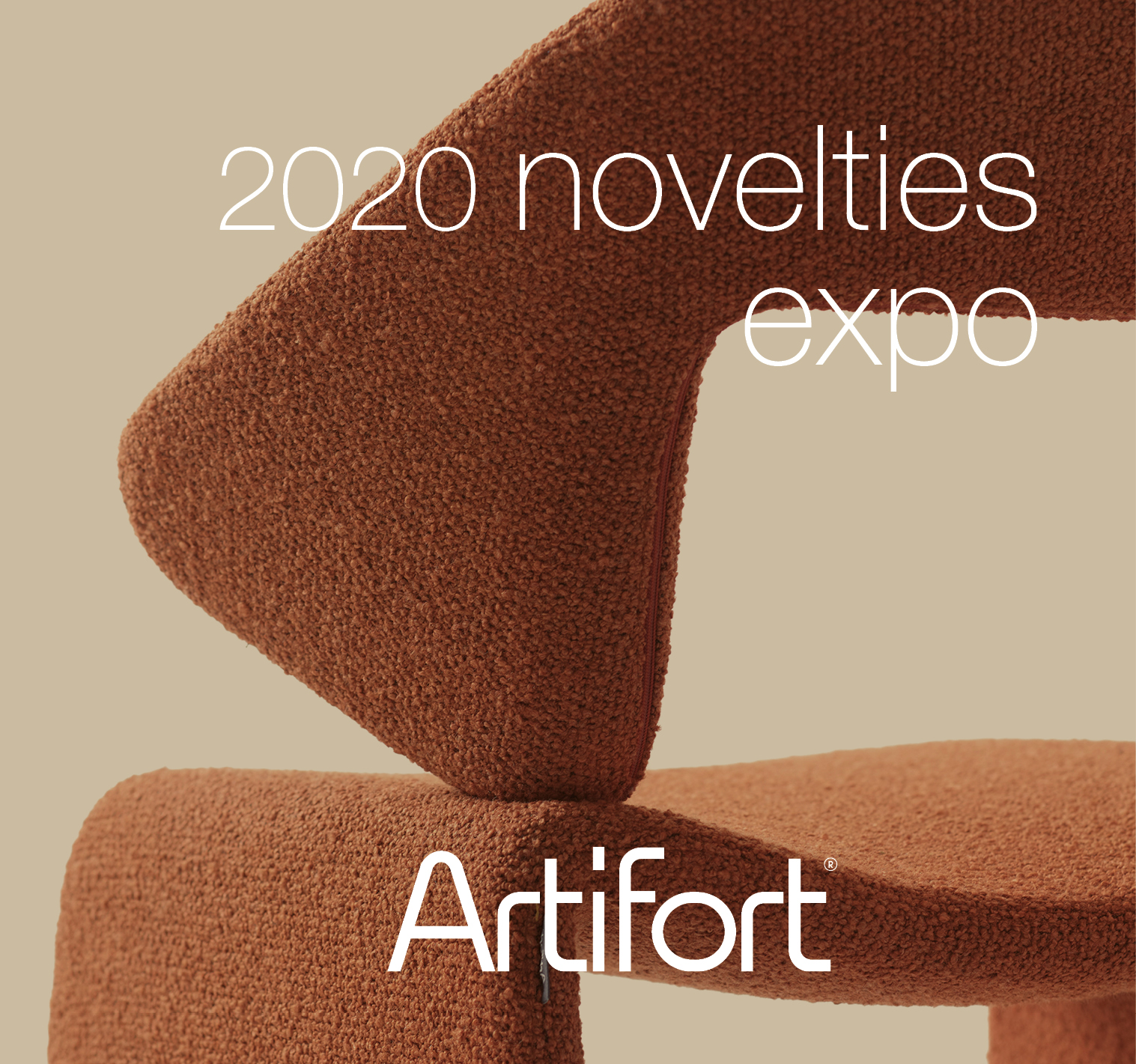 Join us for the physical presentation of the Artifort 2020 novelties
