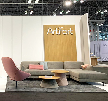 Find here our press release Artifort at ICFF 2019