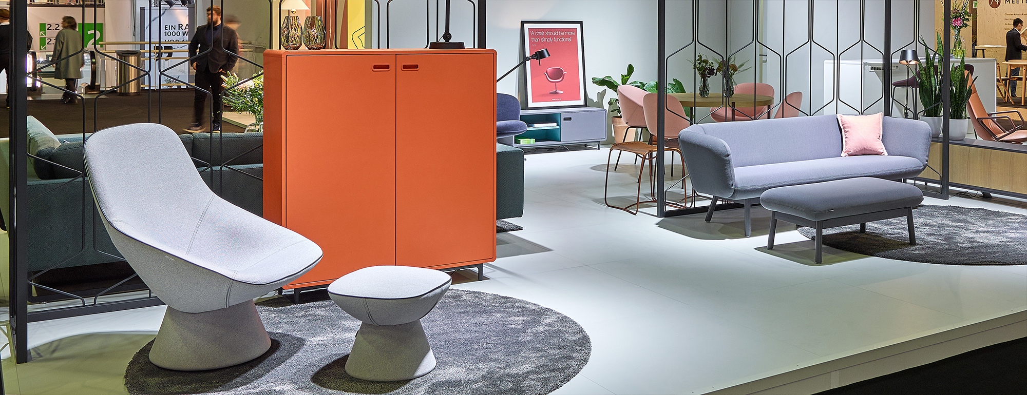 Artifort stand at IMM Cologne 2018