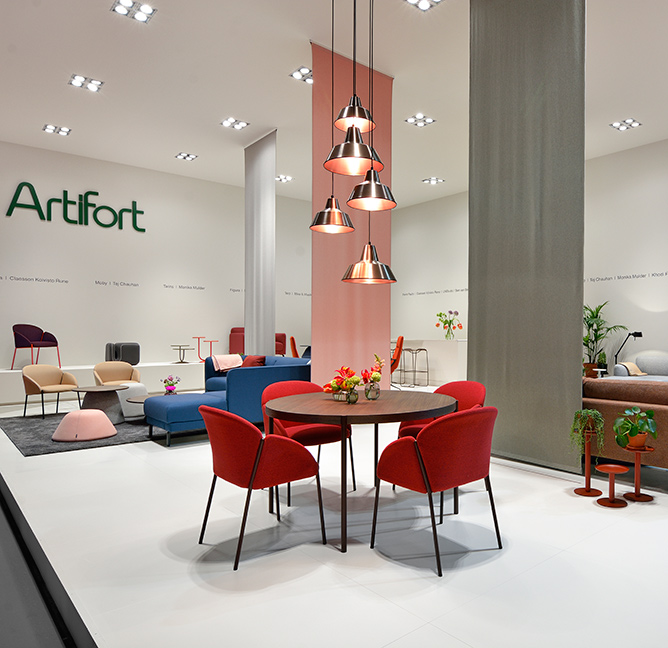 Artifort at Salone del Mobile 2018. Pictures, models and more.