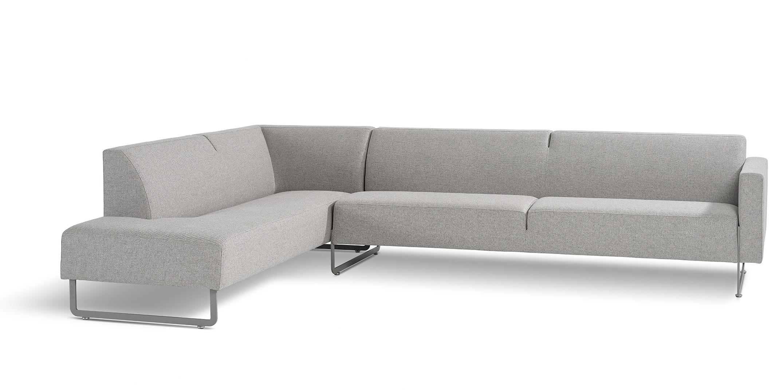 Bankstel Hoge Zithoogte.Artifort Mare Bank Vast Rugkussen Design Sofa Designer Rene Holten