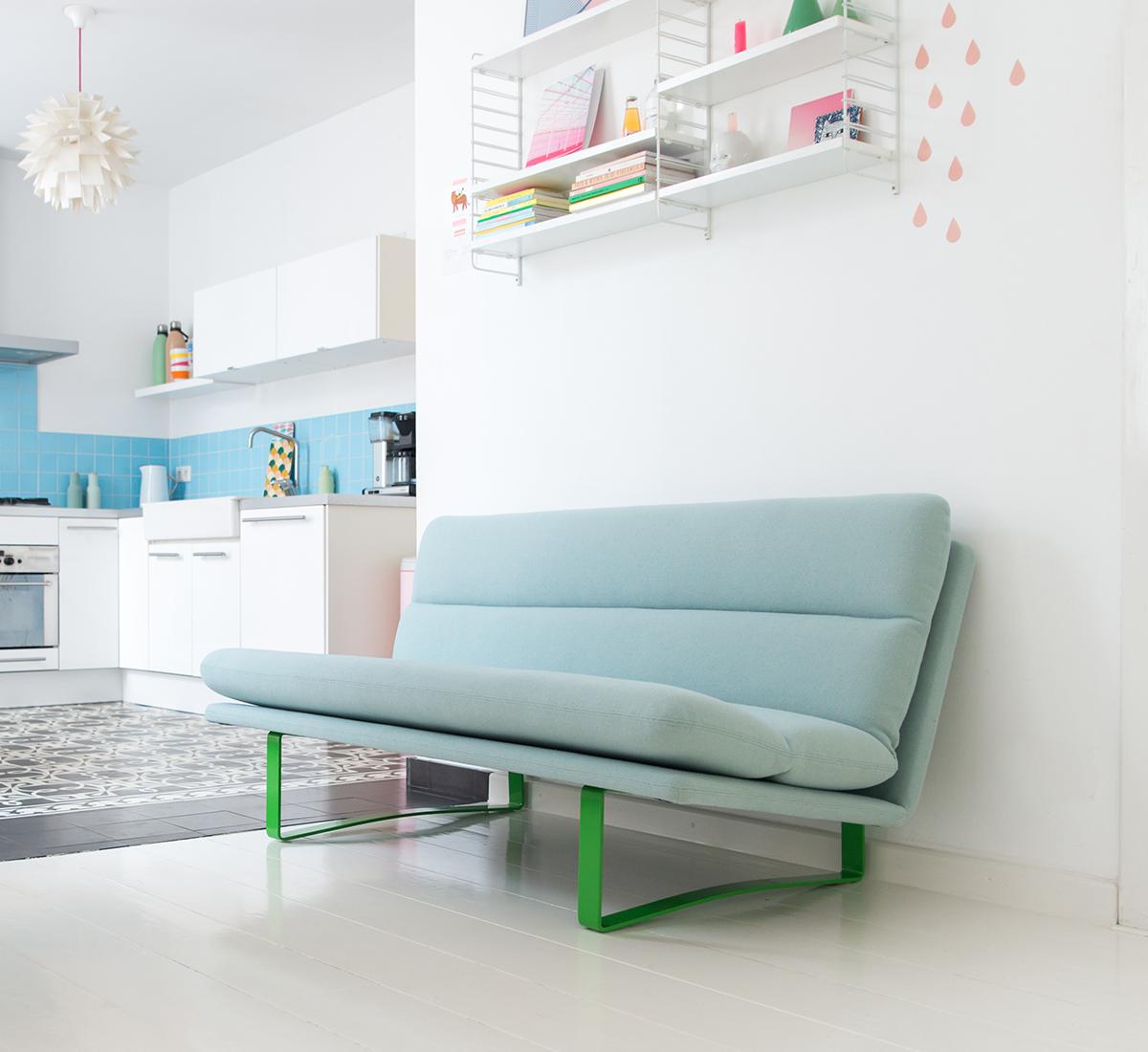 Artifort Design Bank.Artifort Sofa C683 Designer Kho Liang Ie