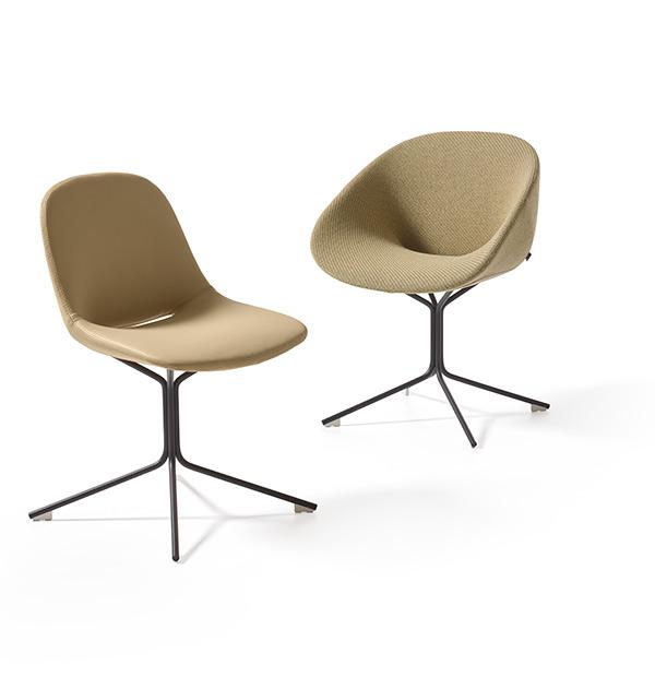 Betaalbare Design Stoelen.Beso Star Base Artifort Designer Khodi Feiz
