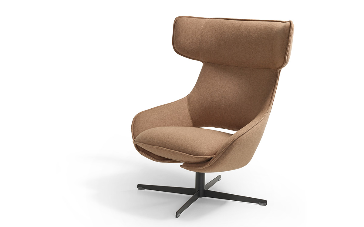 Armchair kalm comfort artifort design patrick norguet