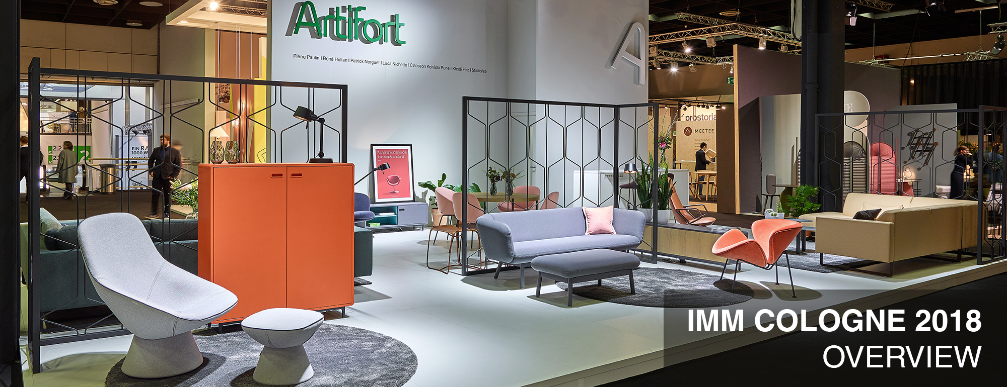 Overview Artifort At IMM Cologne 2018